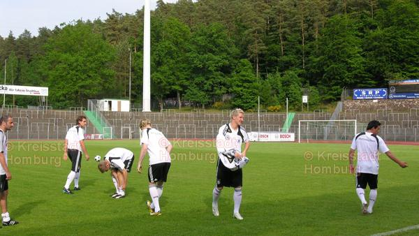 Training der Fussball Nationalelf im Waldstadion